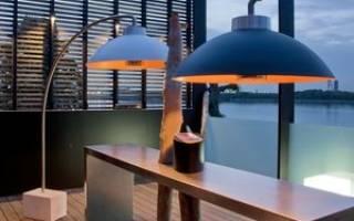 Инфракрасная лампа – обогреватель