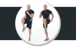 Бег на месте дома: польза упражнения
