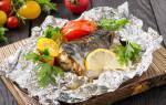 Скумбрия в фольге в духовке: рецепты с фото