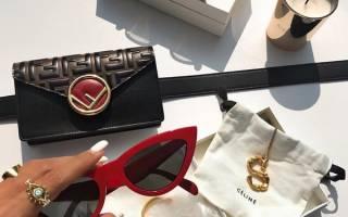 Женские модные солнечные очки 2019
