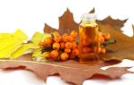 Облепиховое масло при гастрите: как принимать для лечения болезни