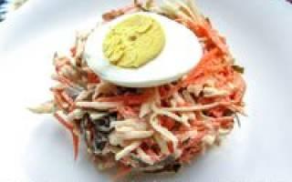 Салат из морской капусты: вкусные рецепты с фото