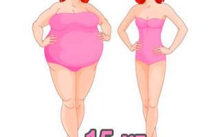 Диеты, чтобы похудеть за месяц на 15 кг