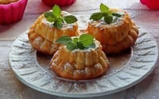 Кексы в духовке: рецепты с фото
