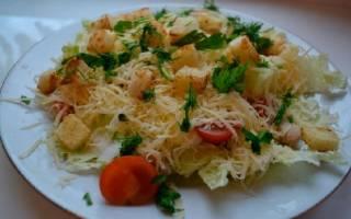 Салат с пекинской капустой – простые рецепты с фото