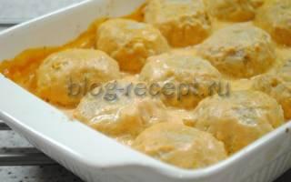 Тефтели в духовке: рецепты с фото