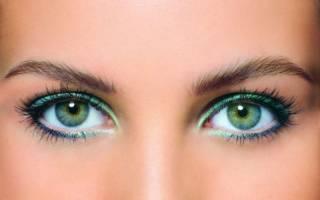 Цвет волос, подходящий к зеленым глазам