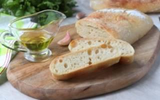 Чиабатта – как приготовить итальянский хлеб в домашних условиях в духовке