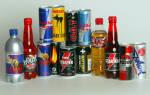 Энергетические напитки – вред или польза