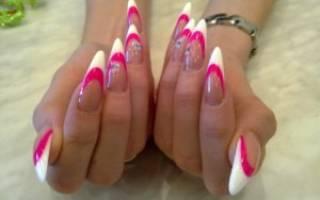 Наращивание ногтей акрилом в домашних условиях для начинающих
