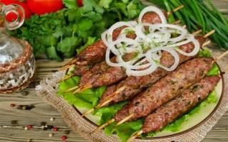 Люля-кебаб из индейки на мангале – приготовление по пошаговым рецептам