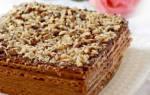 Торт из готовых бисквитных коржей: рецепты