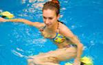 Упражнения для похудения в бассейне – комплексы тренировок с видео