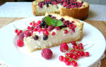 Пирог из творога в духовке: рецепты