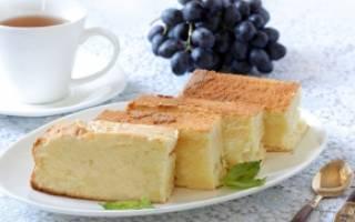 Бисквит на сметане: рецепты