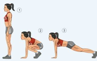 Упражнение бурпи – техника выполнения для начинающих