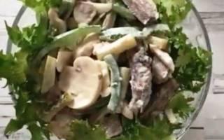 Салат из говядины: вкусные рецепты