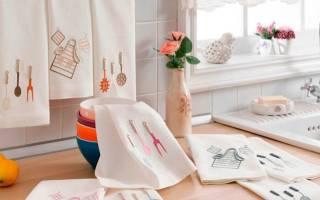 Как отбелить кухонные полотенца в домашних условиях эффективно и просто