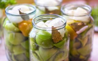 Рецепты салатов из зеленых помидоров на зиму: вкусные заготовки