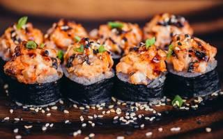 Запеченные роллы – пошаговые рецепты с фото