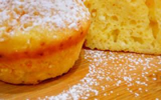 Как испечь кексы из творога – быстрые и вкусные пошаговые рецепты с фото