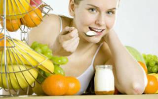 Раздельное питание для похудения: меню и таблица продуктов