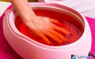Польза парафинотерапии для рук – механизм действия