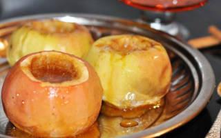 Печеные яблоки в мультиварке: рецепты