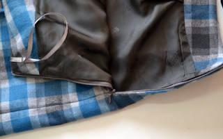 Как в юбку вшить потайную молнию