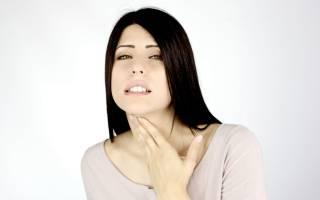 Ларингит – симптомы и лечение у взрослых: средства от воспаления горла