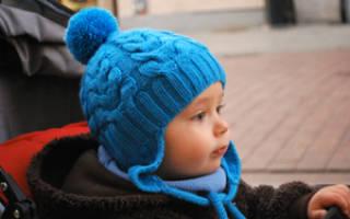 Как связать шапочку для мальчика спицами