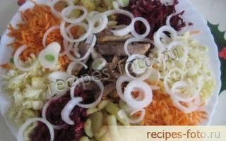Салат Чафан классический. Рецепты салата Чафана с фото