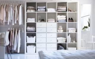 Хранение одежды – правильная организация места в шкафу или комнате