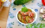Салат из огурцов по-грузински на зиму – пошаговые рецепты с фото