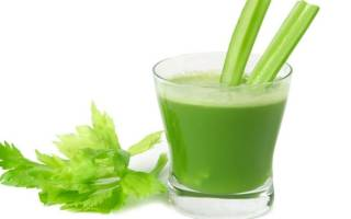 Сок из сельдерея: полезные свойства и рецепты