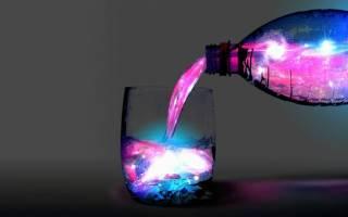 3 способа сделать светящуюся жидкость в домашних условиях