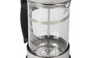 Френч-пресс для чая и кофе – как выбрать и пользоваться