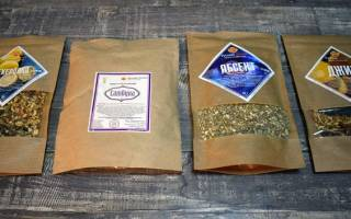 Настойка на травах – рецепты
