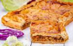 Пирог с капустой в духовке: рецепты с фото