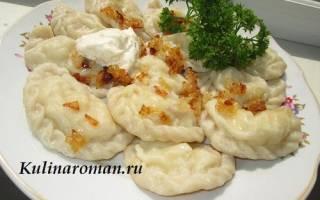 Как приготовить постное и заварное тесто для вареников с картошкой