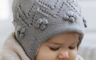 Вязание для детей от 0 до 3 лет с описанием и схемами спицами
