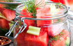 Соленые арбузы в банках на зиму – пошаговые рецепты с фото