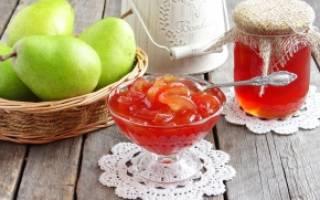 Варенье из груши дольками: рецепты
