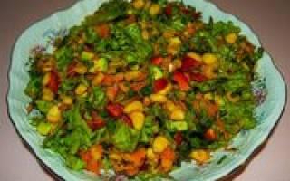 Салат с манго: вкусные рецепты приготовления