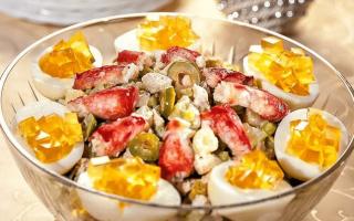 Рецепты приготовления салата оливье