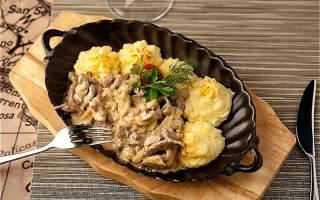 Бефстроганов из говядины – как приготовить по пошаговым рецептам с фото
